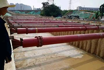 中铁七局集团郑州工程有限公司金水路西延工程项目